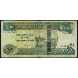 Ethiopie - Pick 52c - 100 birr - 2006 - Etat : TB+