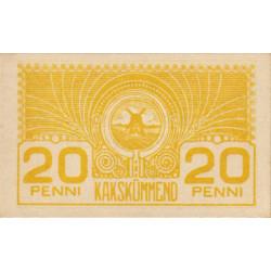 Estonie - Pick 41 - 20 penni - 1920 - Etat : NEUF