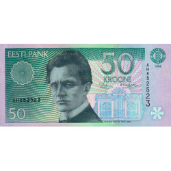 Estonie - Pick 78 - 50 krooni - 1994 - Etat : NEUF