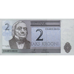 Estonie - Pick 85a - 2 krooni - 2006 - Etat : NEUF
