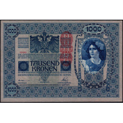 Autriche - Pick 59 - 1'000 kronen - 1919 - Etat : SPL
