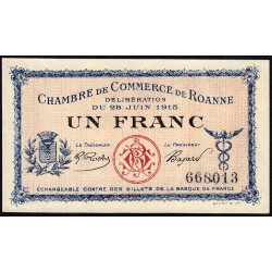 Roanne - Pirot 106-02b - 1 franc - Etat : NEUF