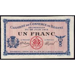 Roanne - Pirot 106-04 - 1 franc - Spécimen - Etat : NEUF