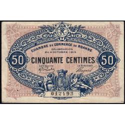 Roanne - Pirot 106-05 - 50 centimes - Etat : TTB