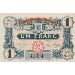 Angoulême - Pirot 009-36-2 - 1 franc