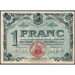 Rochefort-sur-Mer - Pirot 9 - 1 franc - 2me Série - Etat : TTB+