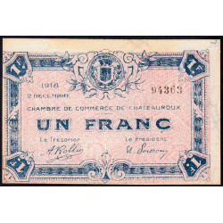 Chateauroux - Pirot 46-19 - 1 franc - Etat : SPL