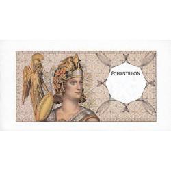 Athena à gauche - Format 200 francs MONTESQUIEU - DIS-03-A-03 - Etat : NEUF