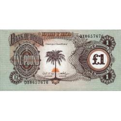 Biafra - Pick 5a - 1 pound - 1969 - Etat : SUP