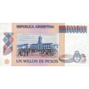 Argentine - Pick 310_3 - 1'000'000 pesos - Série B - 1983 - Etat : SPL