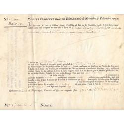 Seine - Paris - Louis XV - Emprunt royal de 1757 - Denier 10 - Etat : SUP