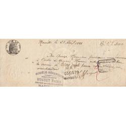 13 - Marseille - Droit prop. - 1889 - 15 centimes - Etat : TB+
