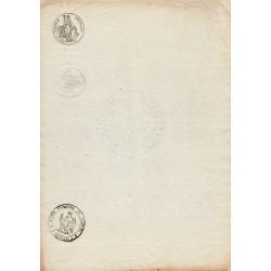 07 - Les Assions - Droit fixe - 1804 - 25 centimes - Etat : TTB+