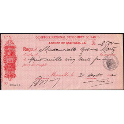Comptoir National d'Escompte de Paris - 1934 - Etat : TTB+