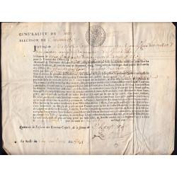 Manche - Coutances - Louis XIV - 1713 - Paroisse de Guéhébert - Etat : TB+