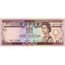 Fiji - Pick 76 - 1 dollar - 1980 - Etat : NEUF