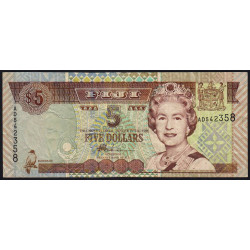 Fiji - Pick 105b - 5 dollars - 2002 - Etat : TTB