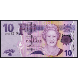 Fiji - Pick 111a - 10 dollars - 2007 - Etat : NEUF