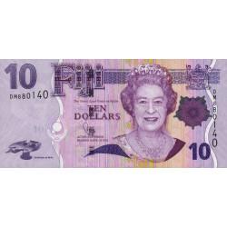 Fiji - Pick 111b - 10 dollars - 2011 - Etat : NEUF
