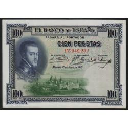 Espagne - Pick 69c - 100 pesetas - 1936 - Série F - Etat : pr.NEUF