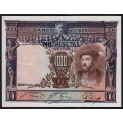 Espagne - Pick 70c - 1'000 pesetas - 1936 - Sans série - Etat : SUP