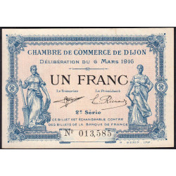 Dijon - Pirot 53-09 - 1 franc - Etat : SPL
