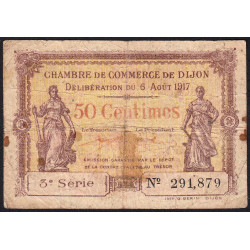 Dijon - Pirot 53-10 - 50 centimes - Etat : B