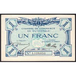 Dunkerque - Pirot 54-05b - 1 franc - Etat : SUP