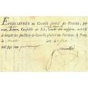 Seine - Paris - Louis XVI - Emprunt royal de 1779 - 9% sur 2 têtes - Etat : SUP