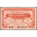 Algérie - Pick 97a - 50 centimes - Série C - 1944 - Etat : TTB+