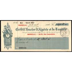 Algérie - Tunisie - Crédit Foncier - 1928 - Etat : TTB
