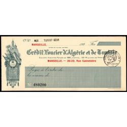 Algérie - Tunisie - Crédit Foncier - 1928 - Etat : SPL