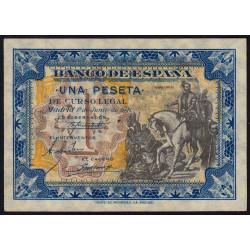 Espagne - Pick 121 - 1 peseta - 1940 - Série A - Etat : NEUF