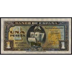 Espagne - Pick 122 - 2 pesetas - 1940 - Série A - Etat : NEUF