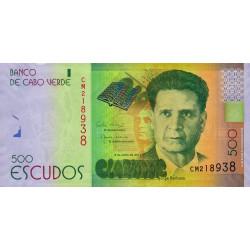 Cap-Vert - Pick 72 - 500 escudos - 2014 - Etat : NEUF
