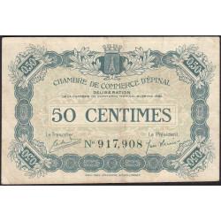 Epinal - Pirot 56-08 - 50 centimes - 1920 - Etat : TTB