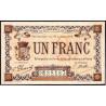Granville - Pirot 60-04a - 1 franc - 1915 - Etat : TTB-