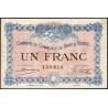 Gray / Vesoul - Pirot 62-03 - 1 franc - 1915 - Etat : TTB