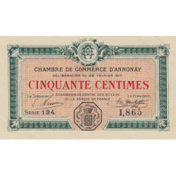 Annonay - Pirot 011-15 - 50 centimes