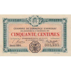 Annonay - Pirot 011-23 - 50 centimes