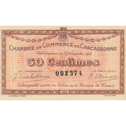 Carcassonne - Pirot 38-01-2 - 50 centimes