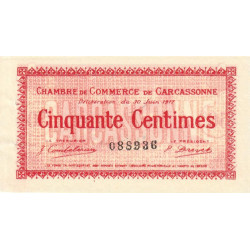 Carcassonne - Pirot 38-11 - 50 centimes