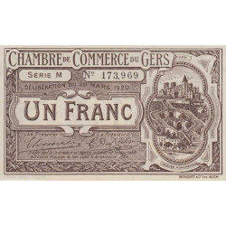 Auch (Gers) - Pirot 15-19-M - 1 franc