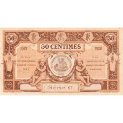 Aurillac (Cantal) - Pirot 16-1b-C - 50 centimes - Etat : SUP