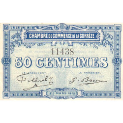 Corrèze / Tulle / Brive - Pirot 51-01 - 50 centimes