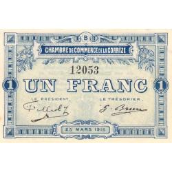 Corrèze / Tulle / Brive - Pirot 051-06-B - 1 franc