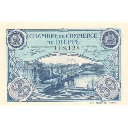 Dieppe - Pirot 52-22 - 50 centimes - Etat : SUP+