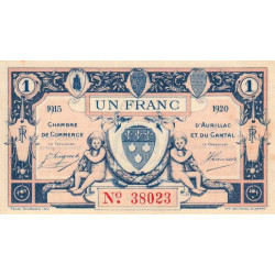 Aurillac (Cantal) - Pirot 016-04-B - 1 franc