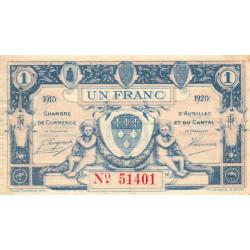 Aurillac (Cantal) - Pirot 016-04-D - 1 franc