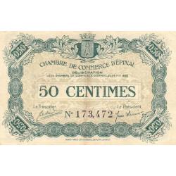 Epinal - Pirot 56-01 - 50 centimes - 1920 - Etat : TTB